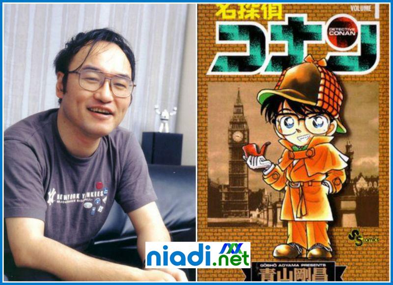 komik detektif conan aoyama gosho, aoyama gosho manga factory, manga karya aoyama gosho, komik karangan aoyama gosho, komik karya aoyama gosho