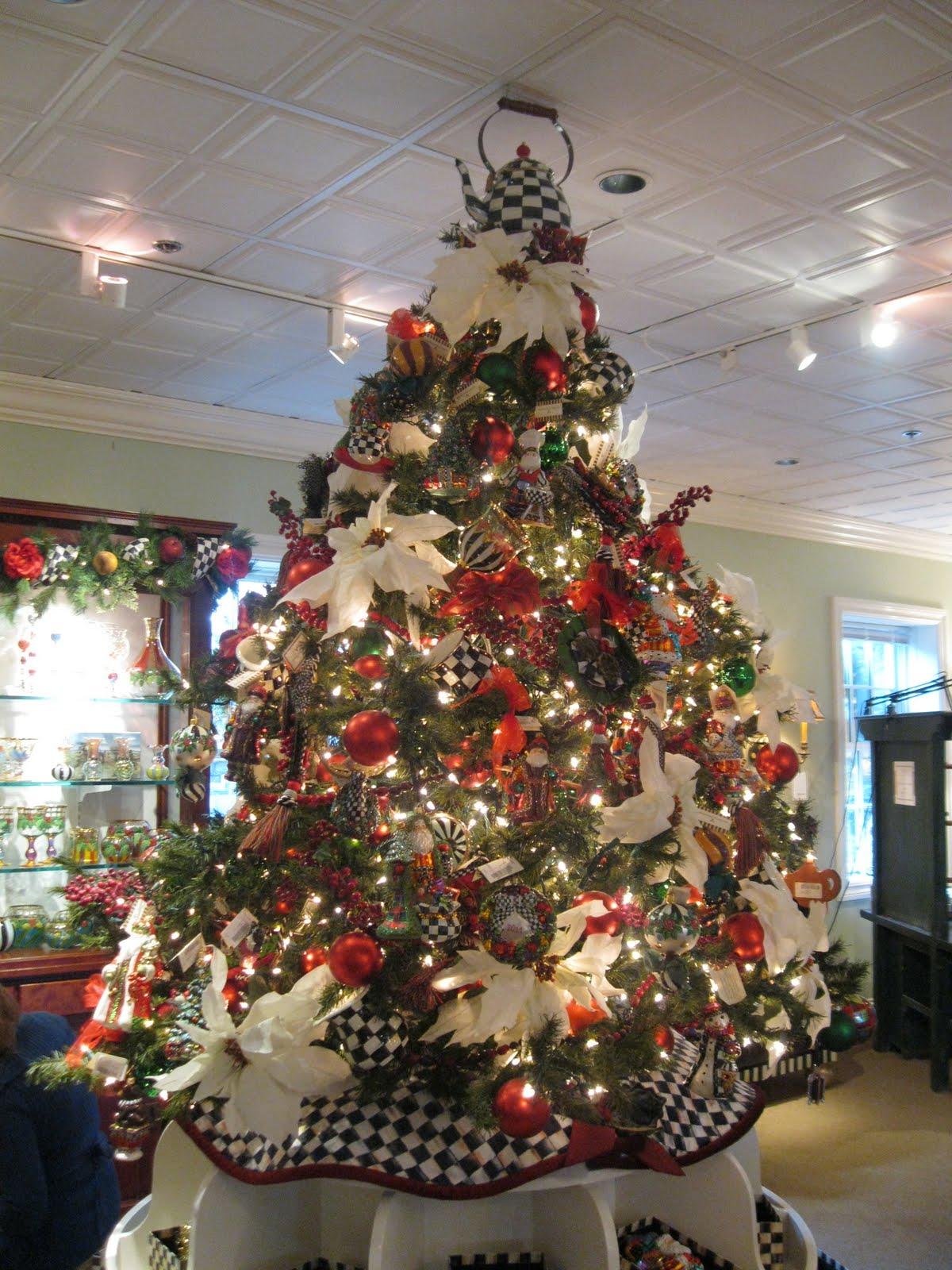 Mackenzie Childs Christmas Ornaments.Pandora S Box Mackenzie Childs Knock Off Christmas Tree