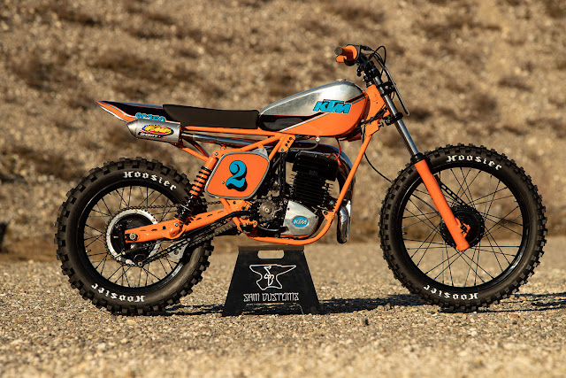KTM GS250 1978 By Sam Customs Hell Kustom