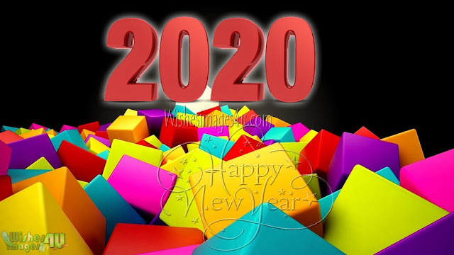 New Year 2020 3D Wallpapers