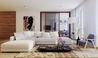 Simple modern living room furniture arrangement