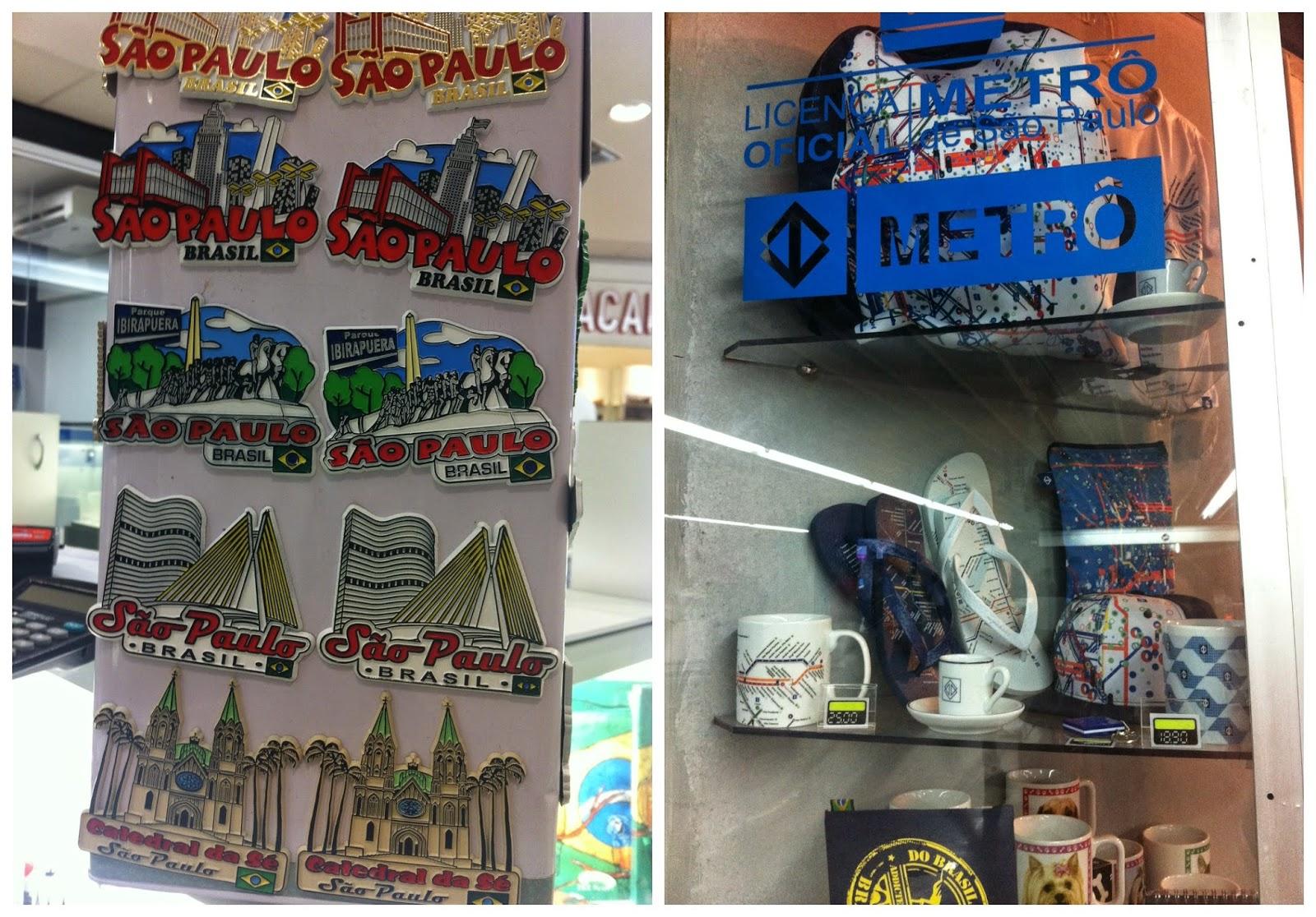 souvenirs de São Paulo