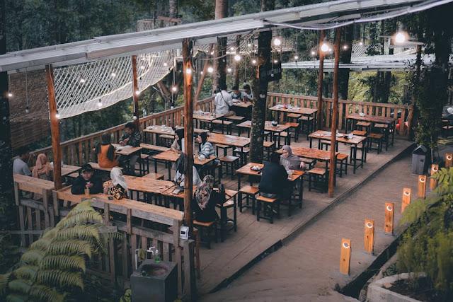 Forest Kopi Batang Cafe Instagramable di Jawa Tengah