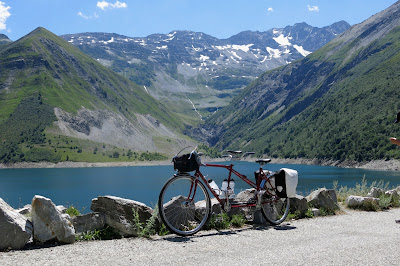 Cyclotouring French Alps Vintage Tandem Peugeot TM 8