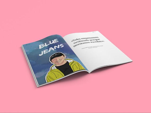 entrevista blue jeans revista literaria la reina lectora