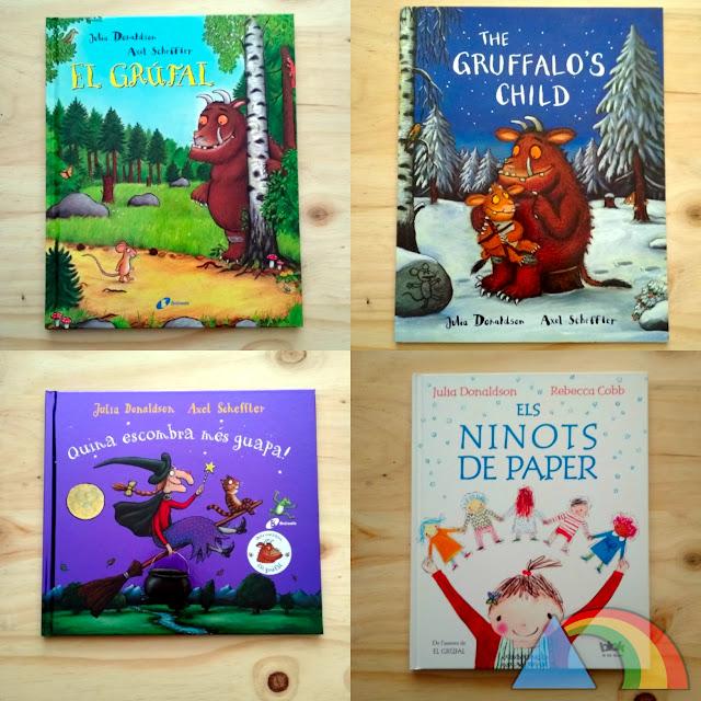 Libros de Julia Donaldson y Axel Scheffler