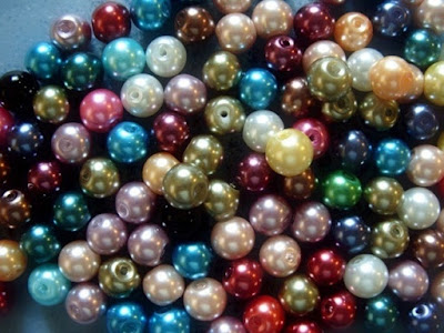 8mm faux pearls
