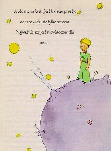 Cytaty Z Książek 1 Mały Książę