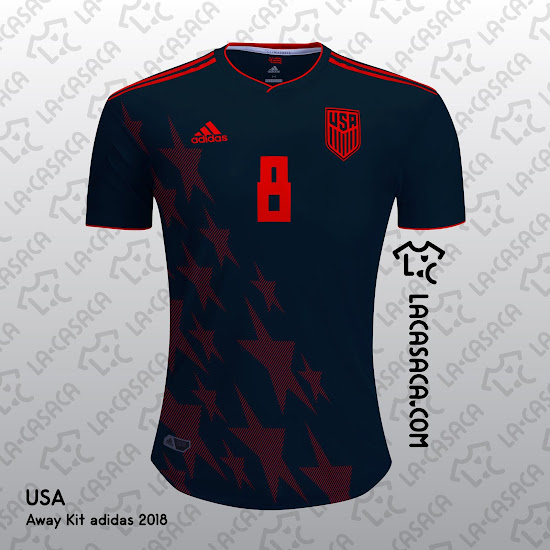 5949f2ed4e4 What if Adidas would supply the jerseys for the USA national team  After  all