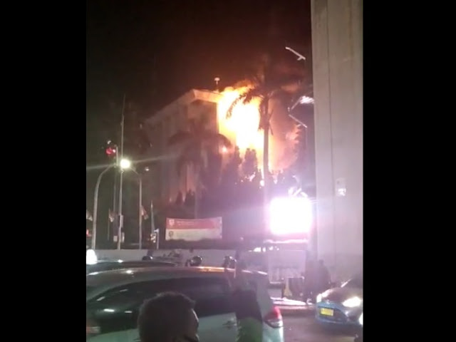 Gedung Kejaksaan Agung RI Terbakar Hebat Malam Ini
