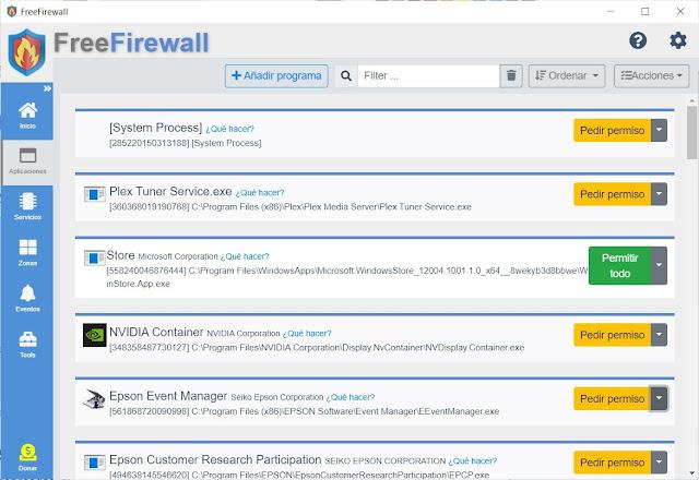 Free Firewall imagen