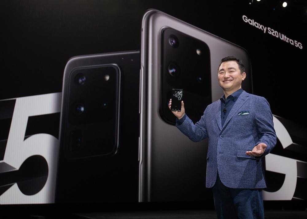 이미지 센서 1억 8백만 화소 탑재 삼성 '갤럭시 S20' 공개