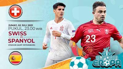 Link Live Streaming Euro 2020, Spanyol Vs Swiss