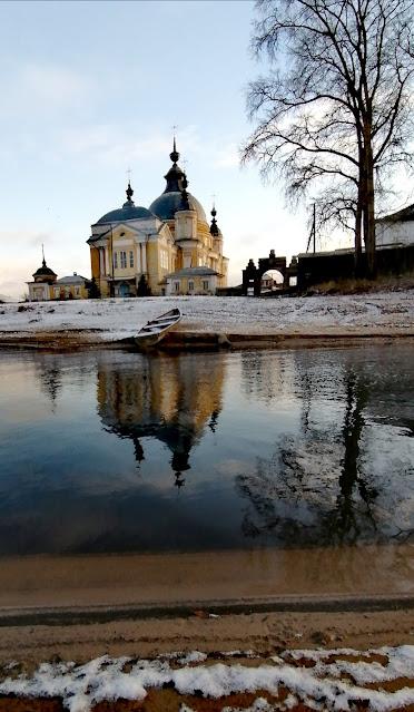 Храм в селе Устье