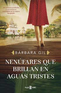 Nenúfares que brillan en aguas tristes de Bárbara Gil