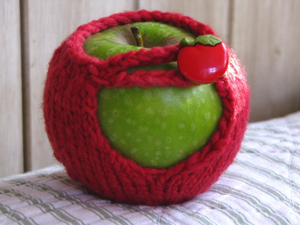Apple Cozy / Jacket Knitting Pattern Tutorial - Natural ...