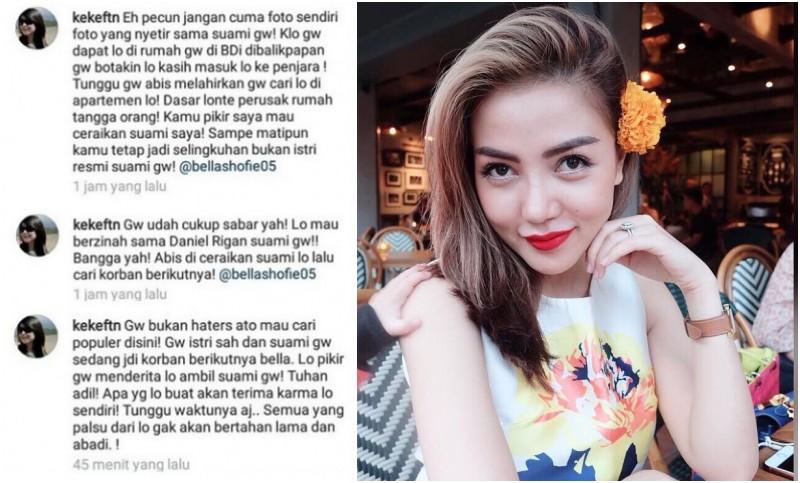 Sofie Nasution dilabrak istri dari Daniel Rigan