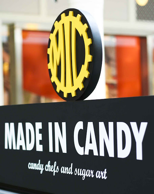 Made in Candy Signage Power Plant Mall Philippines