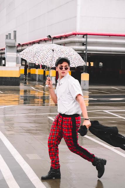look calça xadrex vermelha masculina e boixa  Blog meio que tipo assim Luiz Henrique Luizhenriqueofc moda masculina