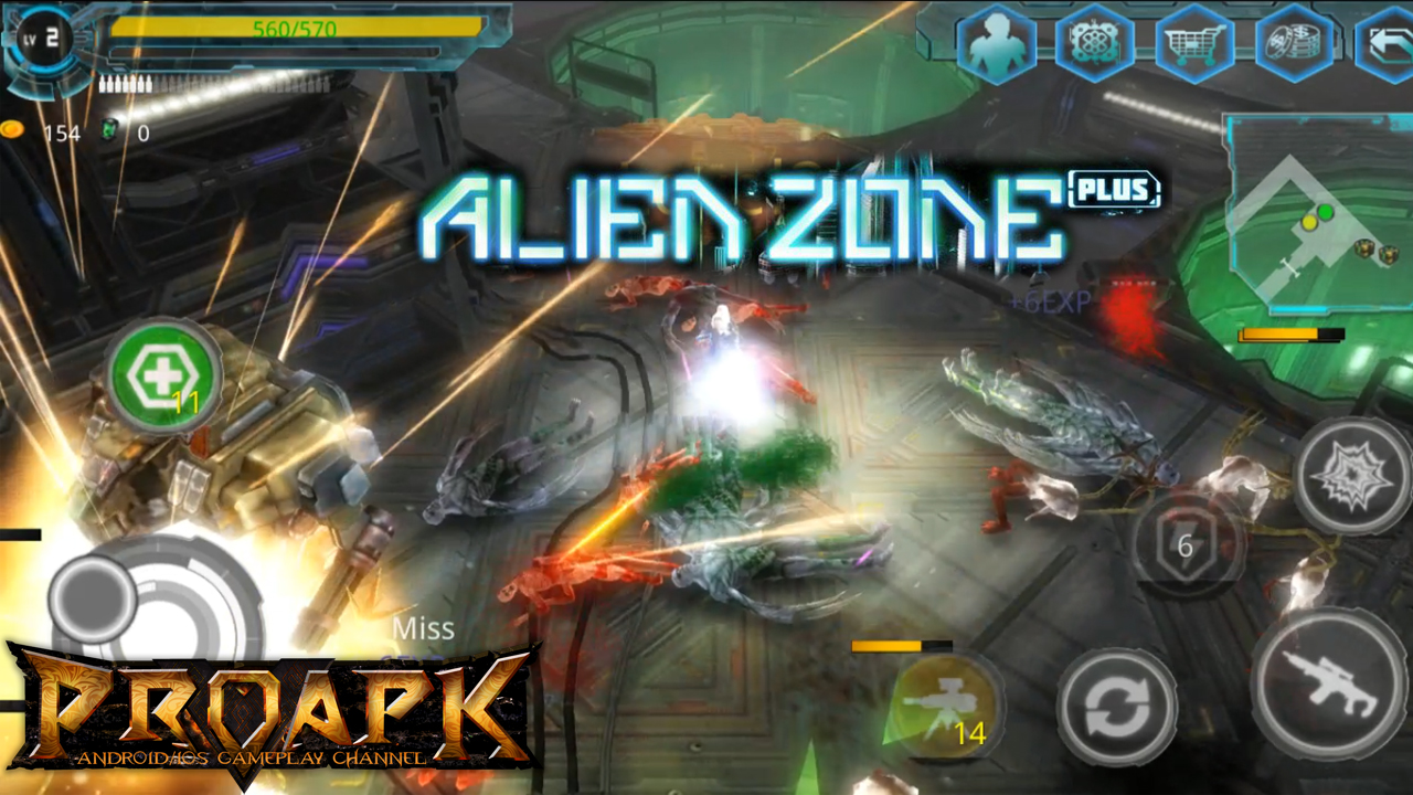 Alien Zone Plus