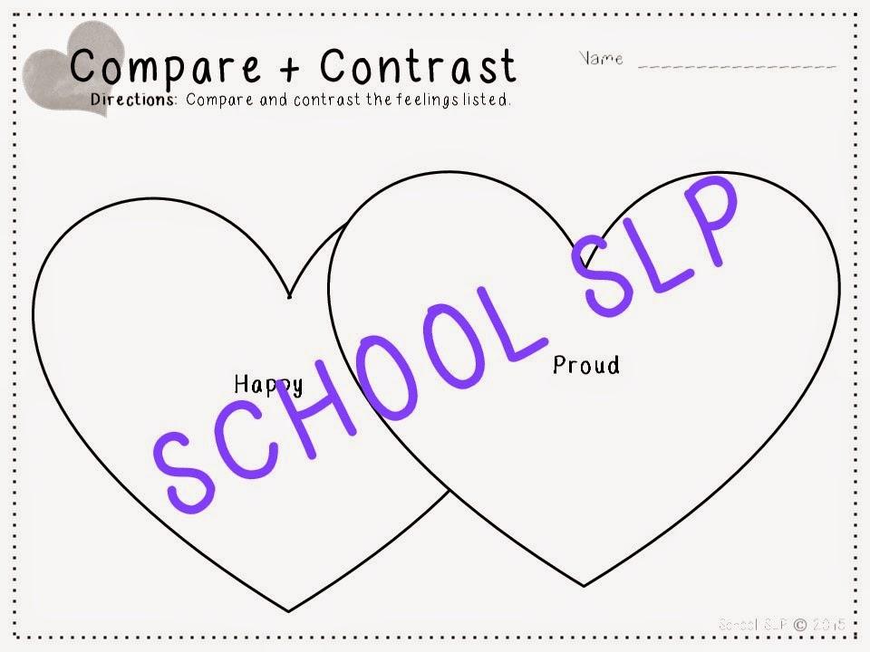 School SLP: Social Language Activities: In My Heart