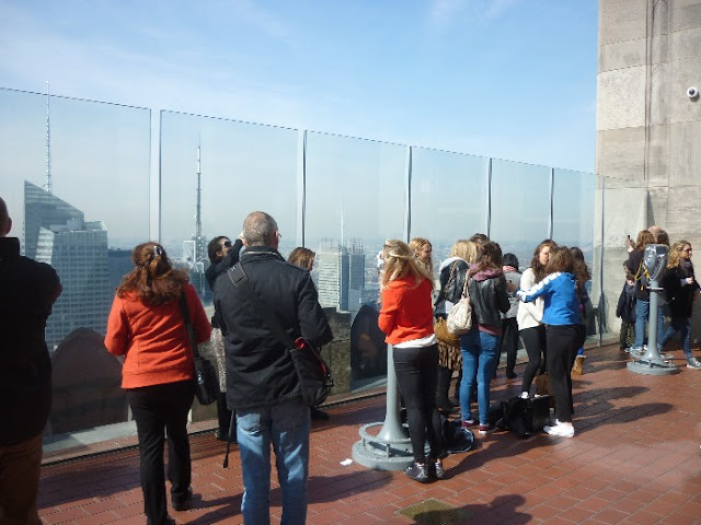 entrata al top of the rock