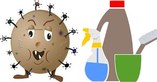 désinfectants naturels - nettoyage