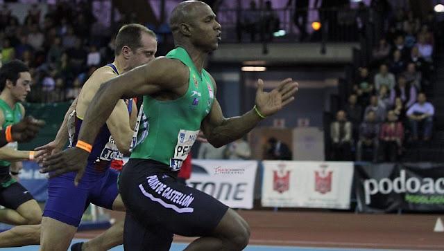 Yunier Pérez batió el récord de España en los 60 metros en Ostrava con una marca de 6,53s, corriendo por el club Atletismo Playas de Castellón