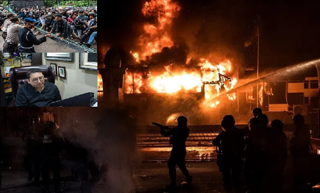 Dalang Pembakar Halte Sarinah Terbongkar, Fadli Zon Kaitkan Agen Provokator