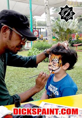 face painting ulang tahun anak jakarta