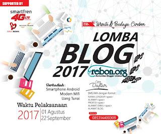"""Lomba Blog """"Wisata dan Budaya Cirebon"""" Hadiah Gadget dan Uang Tunai"""