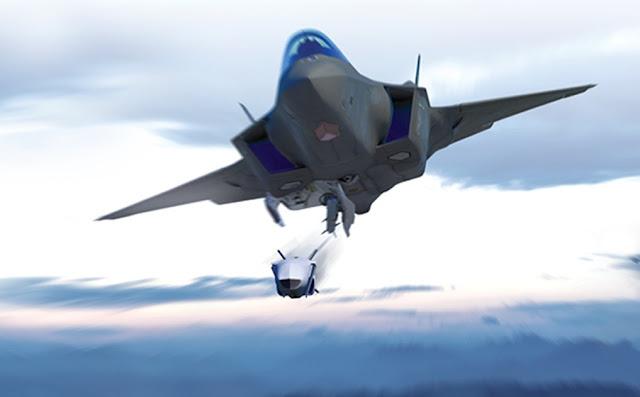 صورة فنية لصاروخ Joint Strike Missile JSM الذي سيمكن حمله داخل حواضن المقاتلة F-35 ..
