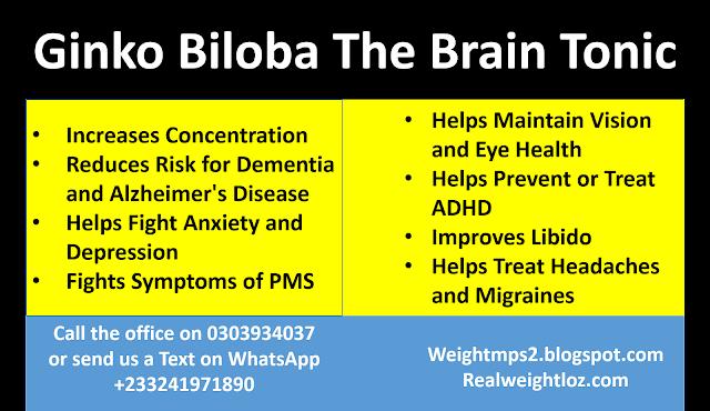 Ginko Plus - The Brain Tonic, Ginko Biloba