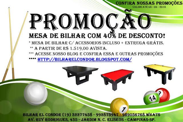 3df61fbc3 BILHAR EL CONDOR - FABRICA E COMERCIO DE LOCAÇÕES