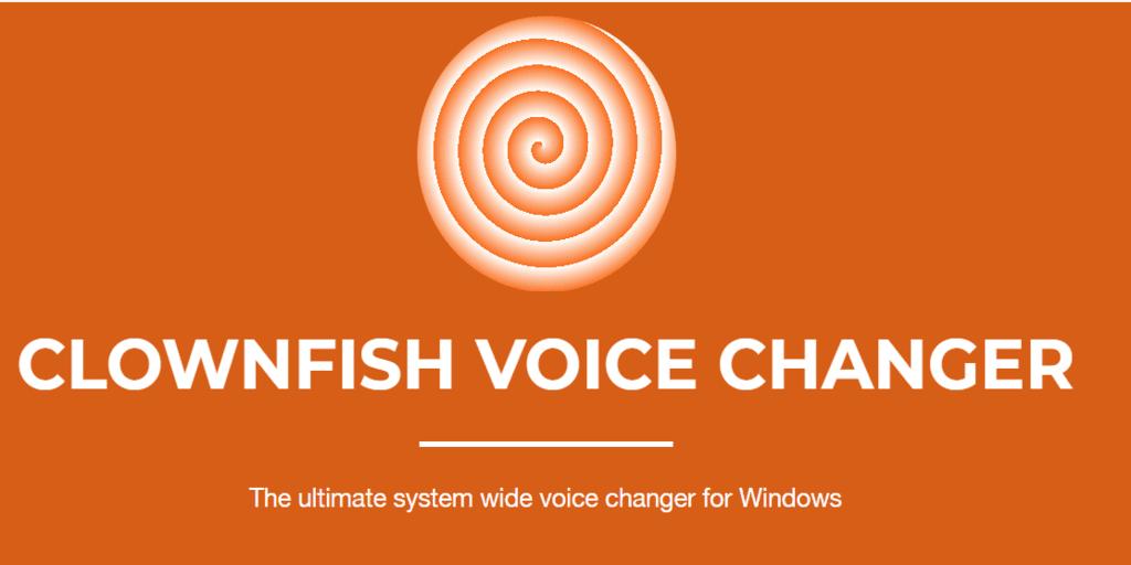 clownfish voice changer software