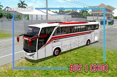 tipe bus shd ebs id 3 pariwisata