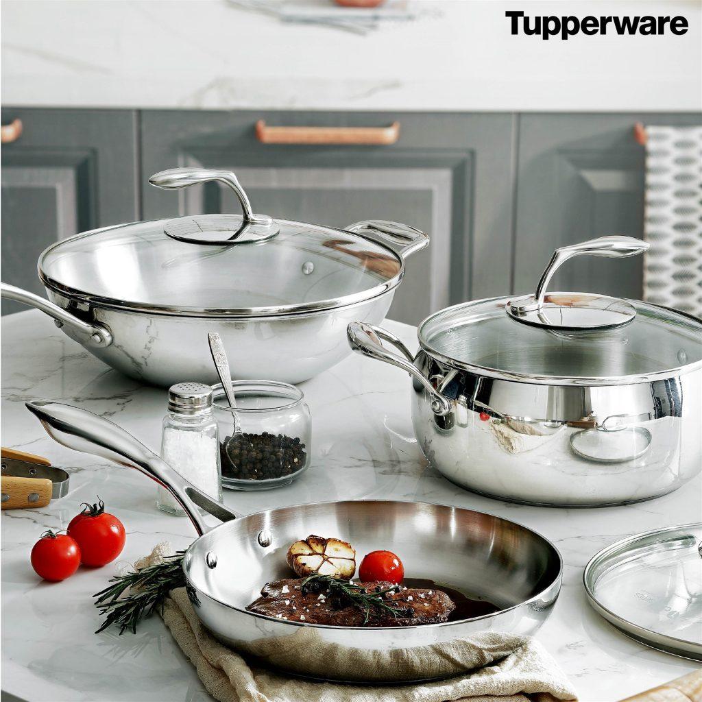 Chảo T Chef Series Frypan 24cm (nắp kính)