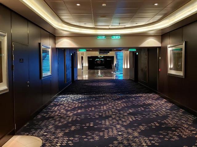 empty cruise ship