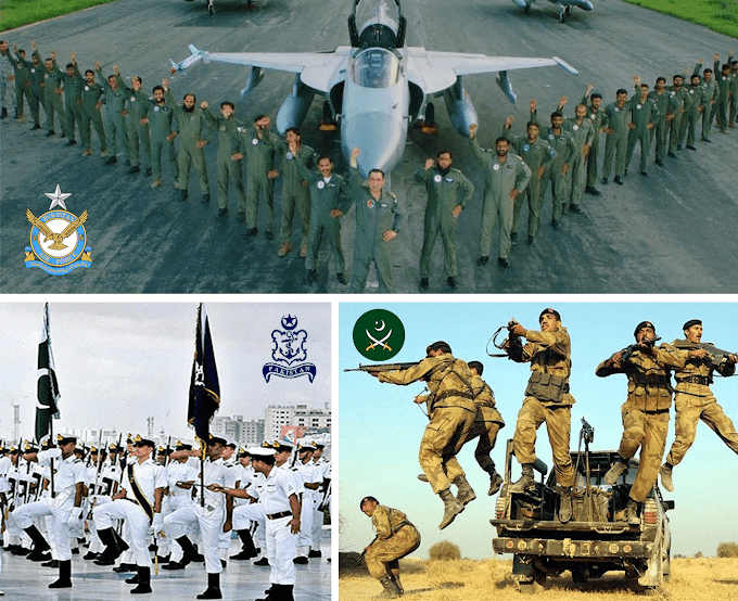 Pakistan Military's Ranks | Ranks of Pakistan Army, Air Force and Navy