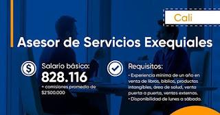 Oferta de Trabajo en Cali Como Asesora de Servicios Exequiales