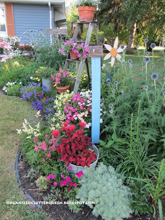 Front Yard Flower Border