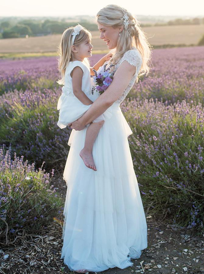 Beautiful Lavender Bridal Editorial - Eva Tarnok Photography - World ...