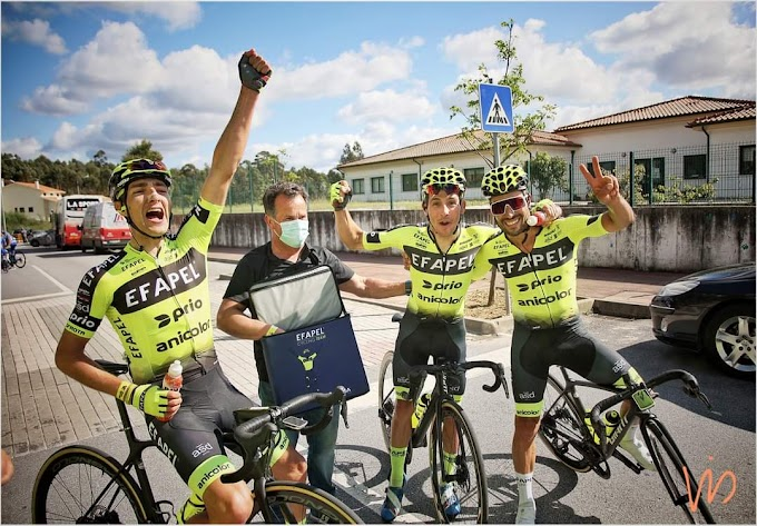 Raw Super Drink patrocinará al equipo portugués Efapel Cycling Team