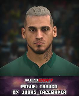 PES 2017 Faces Miguel Trauco by Judas