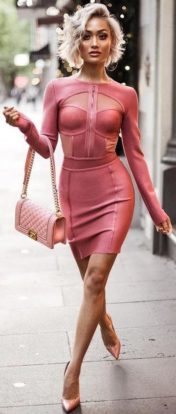 18 VALENTINES DAY DRESSES IN PINK AND RED COLORS – OUTFIT IDEAS