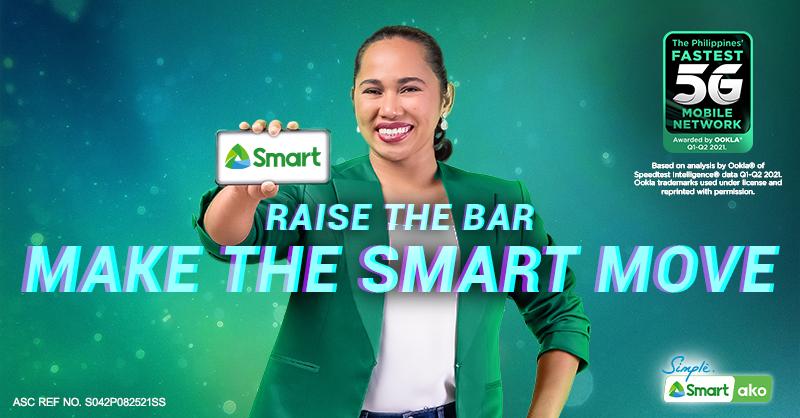 First Filipino Olympic Gold Medalist Hidilyn Diaz is Smart's New Ambassador