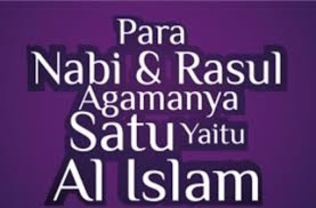 Sejatinya Tidak Ada Agama Selain Islam