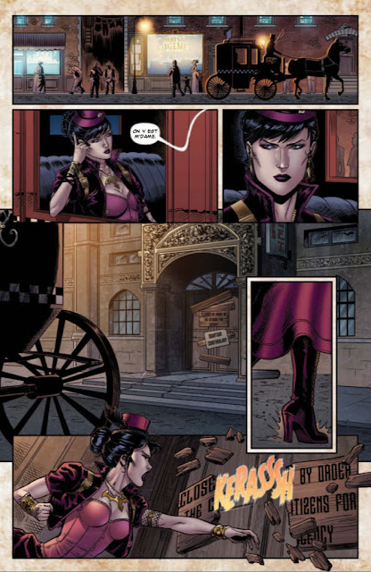 Legenderry tome 4 Vampirella aux editions Graph Zeppelin extrait 4