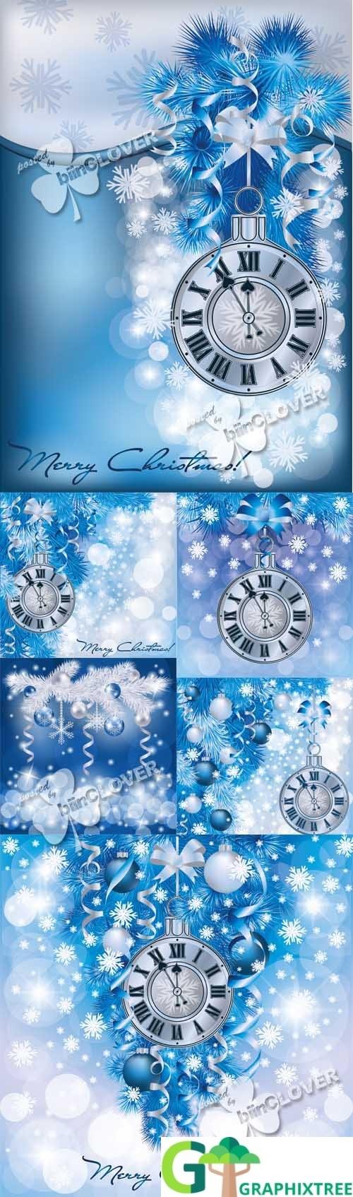 Vector Elegant Christmas background 0514