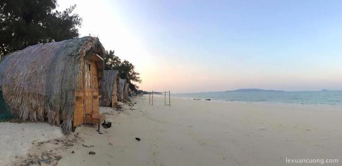 Cô Tô Lodge trên đảo